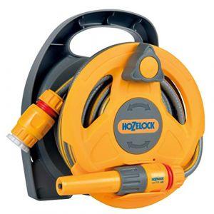 Hozelock Click & Go 2427 0000 1 pc(s) jaune, gris Enrouleur de tuyau