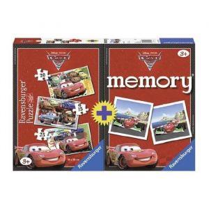 Ravensburger Puzzle et jeu de memory Disney Cars
