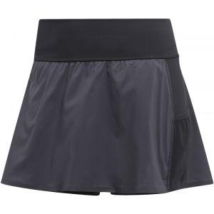 Adidas TERREX Agravic - Short running Femme - gris/noir DE 34 Pantalons course à pied