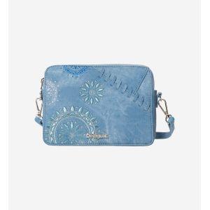 Desigual Sac besace patch mandala Edson Bleu