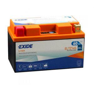 Exide Batterie moto YTZ14S Lithium Li-ion 12V 5AH 290A ELTZ14S YTZ12S