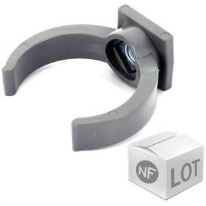 First Plast Lot de raccord PVC - 200 Colliers lyre Ã%u02DC50