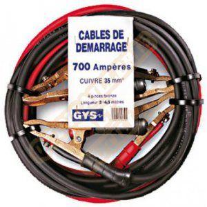 GYS 056602 - Jeu de câbles de démarrage 5,10 mètres 50mm²