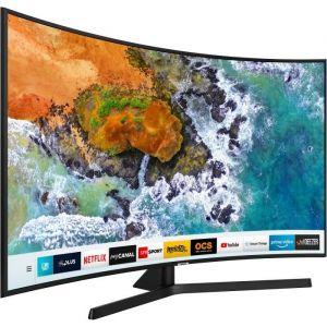 Samsung TV LED 4K incurvé 138 cm UE55NU7505