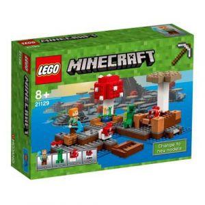 Lego 21129 - Minecraft : Le biome champignon