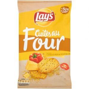 Lay's Chips cuites au four cheddar poivre