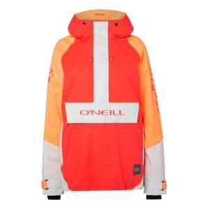 O'Neill Women´s Original Anorak - Veste de ski taille S, rouge/gris