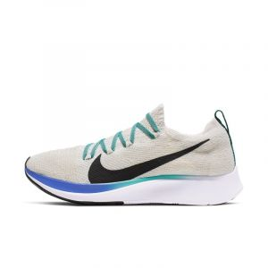 Nike Chaussure de running Zoom Fly Flyknit pour Femme - Crème - Taille 35.5 - Female