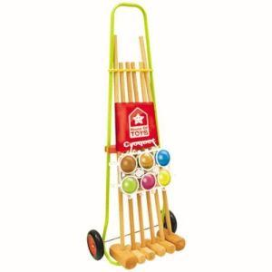 House of Toys Croquet 6 joueurs - 2 adultes / 4 enfants Soulet