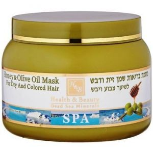 Health & Beauty Honey & Olive Oil Mask for dry or colored hair