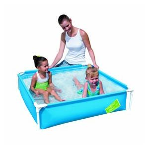Bestway Piscine carrée My first Frame Pool 122 X 122 X 30,5 cm