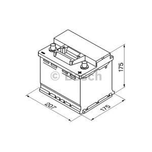 Bosch 0092S30010 - Batterie de démarrage