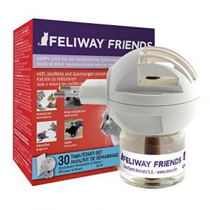 Feliway FRIENDS Diffuseur & Recharge pour chat 1 diffuseur + 1 flacon de 48 ml