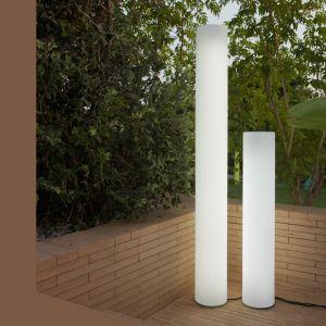 New Garden Lampadaire extérieur FITY-Lampadaire d'extérieur / Colonne lumineuse LED avec câble H160cm Blanc
