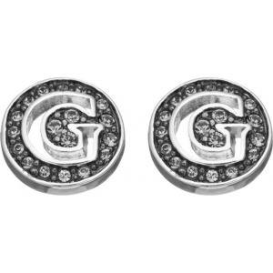 Guess UBE51425 - Boucles d'oreilles en métal argenté pour femme