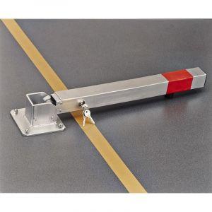 Mottez Poteau bloque parking rabattable en acier B320P
