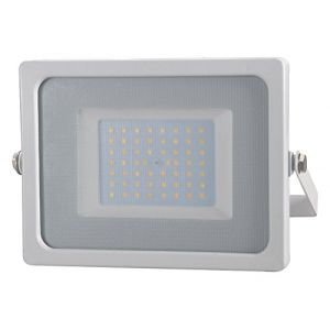 V-TAC Projecteur LED SMD SHINY 50W 6400K? Corps Blanc