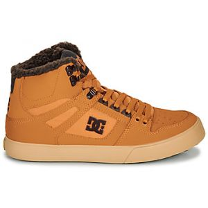 DC Shoes Baskets montantes PURE HIGH-TOP WC WNT Marron - Taille 41,42,43,44,45,46
