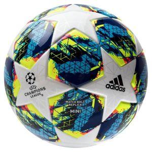 Adidas Mini ballon de football Finale UEFA Champions League 19 Blanc/Bleu