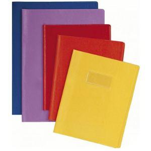 Calligraphe 72209C - Protège-cahier Grain Cuir en PVC 20/100 (A4)