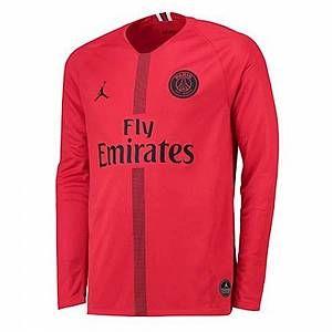 Nike Maillot de football à manches longues 2018/19 Paris Saint-Germain Stadium Goalkeeper pour Homme - Rouge - Taille S