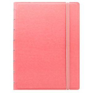 Filofax Pastels Carnet A5 rechargeable - couleur rose