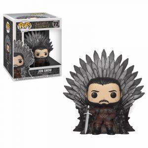 Image de Funko Game Of Thrones - Bobble Head Pop N° 72 - Jon Snow Throne Oversize [Figurine]