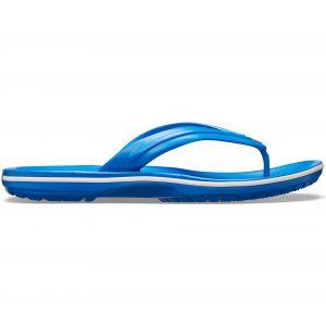 Crocs Crocband Flip, Tongs Mixte Adulte, Bleu (Bright Cobalt/White 4kg), 45/46 EU