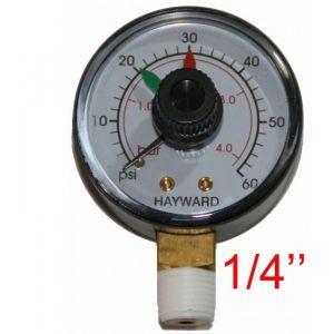 OOGarden Manomètre vertical EC2708 6 pour filtre à sable Hayward