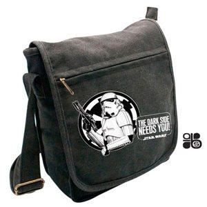 Troopers Small White Hook Messenger Bag