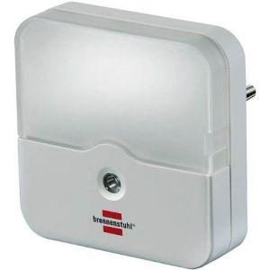 Brennenstuhl 1173220 - Veilleuse LED carrée à détecteur crépusculaire