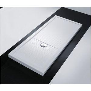 Novellini Olympic Plus - Receveur de douche rectangulaire (4.5 x 120 x 100 cm)
