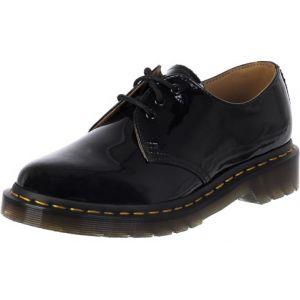Dr. Martens 1461 Patent Lamper, Chaussures de ville femme - Noir (Black), 42 EU (8 UK)