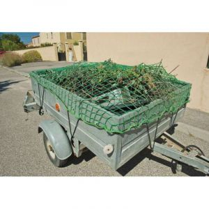 Provence Outillage Filet de protection 2,5 m pour remorque