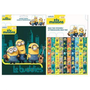 Album et 960 stickers Les Minions