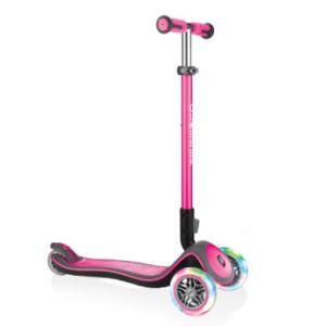 Globber Authentic Sports Trottinette enfant Elite Deluxe rose rose/rose vif
