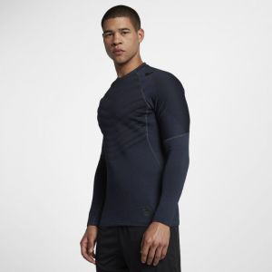 Nike Haut de training à manches longues Pro AeroLoft pour Homme - Noir - Taille L