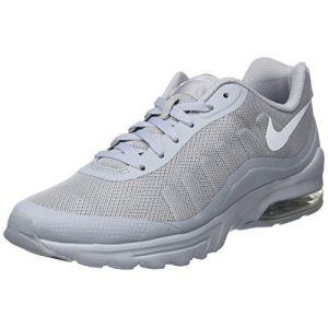 Nike Air Max Invigor, Chaussures de Running Compétition Homme, Gris (Wolf Grey/White 005), 45.5 EU