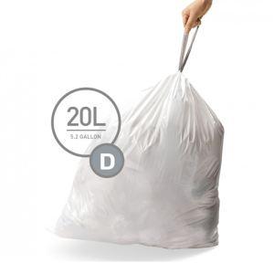 Simplehuman Sacs poubelle (20 L-D)