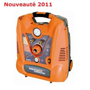 Mecafer 425028 - Compresseur Super Squirrel RevolutionAir 6L 2HP