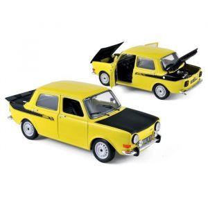 Norev 185708 - Simca 1000 Rallye 2 - 1976 - Echelle 1/18 - Jaune Maya/Noir