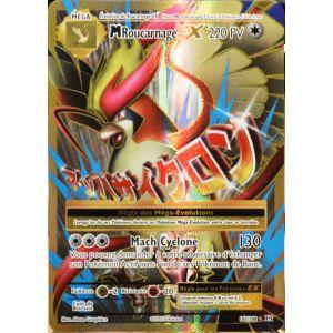 Asmodée Méga Roucarnage Ex - Carte Pokémon 105/108 Full Art Xy Evolutions