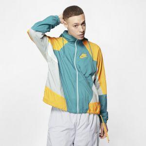 Nike Veste tissée à capuche Sportswear pour Homme - Vert - Taille XL - Male