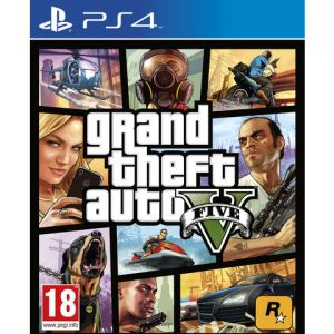 Grand Theft Auto V (GTA V) sur PS4