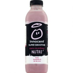 Innocent Super Smoothie Nutri fraise, framboise & lait de coco