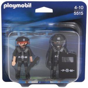 Playmobil 5515 - Duo policiers des forces spéciales