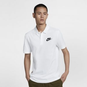 Nike Polo Sportswear pour Homme - Blanc - Taille XL - Male