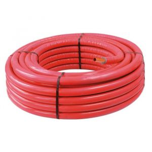 Somatherm TUBE PER 13/16 PRE-GAINE ISOLE ROUGE -Couronne 50 m