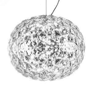 Kartell Suspension Planet / LED - Ø 33 cm cristal en matière plastique