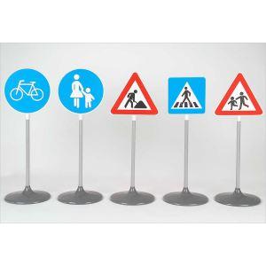 Klein Sécurité Routière: Set de 5 panneaux routiers